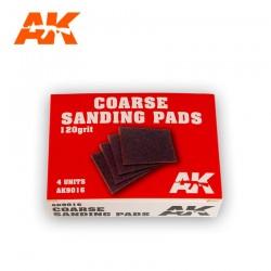 4 Eponges abrasives / 4 Coarse Sanding Pads 120