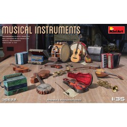Musical Instruments 1/35