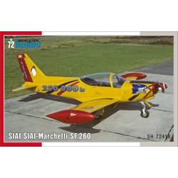 SIAI-Marchetti SF.260, Belgian Decals 1/72