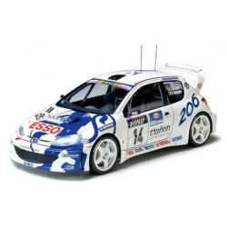Peugeot 206 WRC 1/24