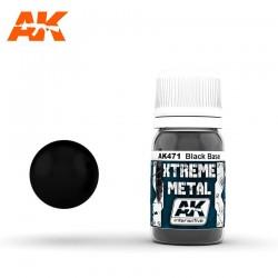 Xtreme Metal Black Base, 30ml