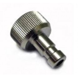 "Plug in nipple, nd 2.7mm - G1/8"" female thread, with seal"