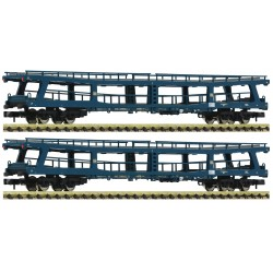 "Set de 2 Wagons transport voitures / Auto-train ""Christophorus"", DB, N"