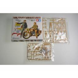 German Motorcycle Orderly Set 1/35