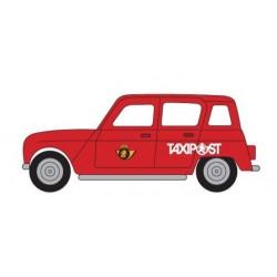 Renault R4 Taxipost Belgique H0