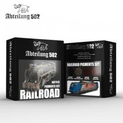 Railroad Pigment Set