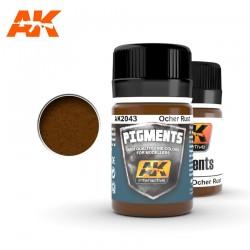 Pigment Rouille Ocre / Ocher Rust 35ml