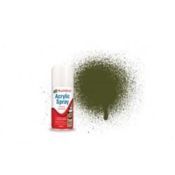 Spray Acrylique Olive Drab 155, 150ml