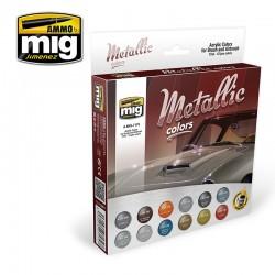 Set Couleurs Métalliques / Metallic Color Set