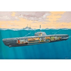 U-boat Typ XXI U 2540 & Interieur 1/144