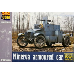 Minerva Armoured car, Version Belge / Belgian Version 1/35