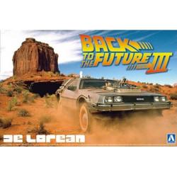 Back To The Future III DeLorean 1/24