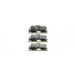 Set de 3 Wagons Citernes / Set 3 Tank Wagons, Eva N