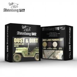 Dust & Dirt Pigments Set