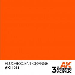 Orange Fluorescent 17ml