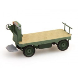 Luggage Trolley green N