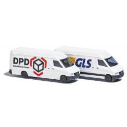 2 Camionnettes DPD & GLS N