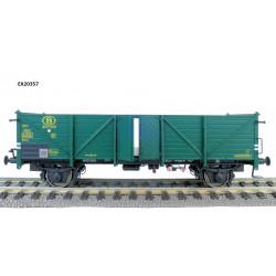 Wagon Tombereau, Vert SNCB H0