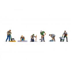 Cantonniers / Road Workers N