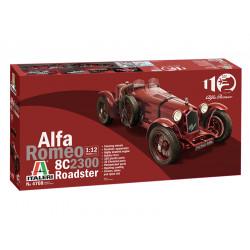 Alfa Romeo 8C Roadster 1/12