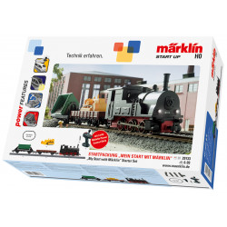 My World Coffret de départ Locomotive Tender et Wagons AC H0