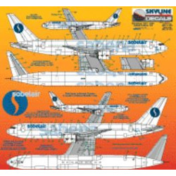 Sabena/Sobelair Boeing 767-300, 1990