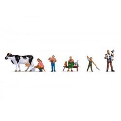 Famille de Paysans / Farmer Family H0