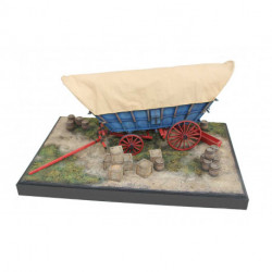 Diorama Wagon Conestoga 1/20