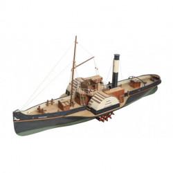 Remorqueur à Vapeur Vanguard, Wood Paddle Tug 1/50