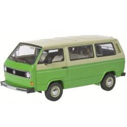 Volkswagen VW Bus T3, 1979-1990, vert et beige