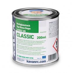 Enduit nitrocellulosique de finition Classic Top Gloss Dope, 200ml