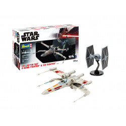 Coffret Collector X-Wing Fighter + TIE Fighter Collector Set 1/57