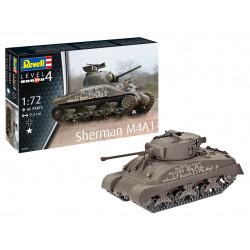 Sherman M4A1 1/72