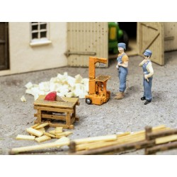 Fendeurs de buches / Wood Splitter and Circular Saw H0