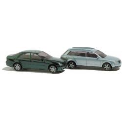8346 Busch Set Audi Avant A4 / Mercedes C-Class N