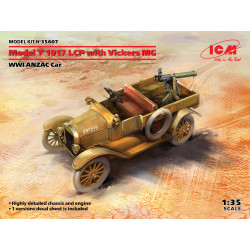 Model T 1917 LCP with Vickers MG, Dead Sea region, Palestine, 1918 1/35