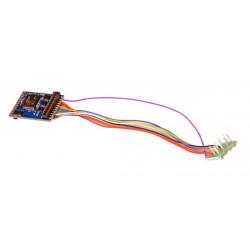 LokPilot Décodeur V5.0 NEM 660 21MTC, DCC/MM/SX/M4