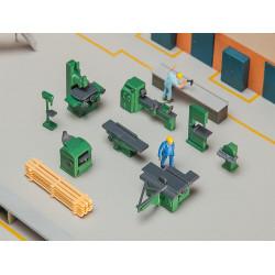 Équipement atelier / Workshop furnishings H0