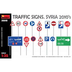 Traffic Signs. Syria 2010's 1-35