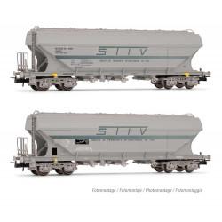 Wagon 4 Essieux SNCB H0