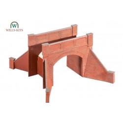 SS53 PECO Brick Arch Bridge H0