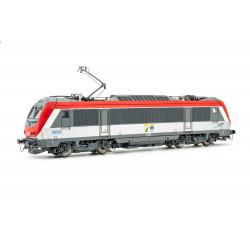 """Locomotive Electrique BB 36005, livre rouge, """"Charleroi-Hirson"""", SNCF, DC, H0"""