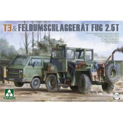 T3 + Feldumschlaggerät FUG 2.5t 1/35
