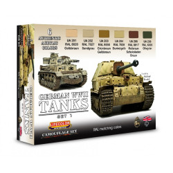 German Tanks WWII Set 1