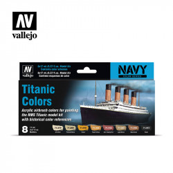 Titanic Colors 8 * 17 ml