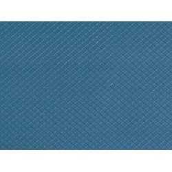 1 Plaque de décor Toit Ardoise Diagonale / 1 Decor sheet Slate Rof, H0