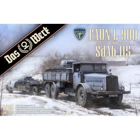 Faun L900 incl. SdAh 115 1/35