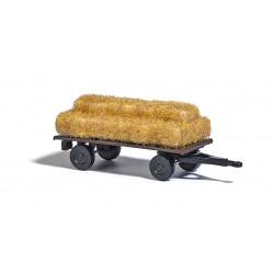 Remorque / Farm trailer with hay N