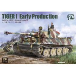 Tiger I Early Production Sd.Kfz.181 Pz.Kpfw.VI Ausf.E 1/35