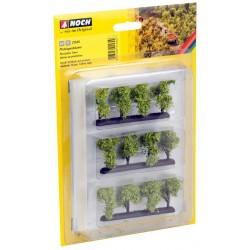 12 arbres de plantation 3,5 cm HO/TT